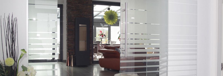 k che und wohnen glast ren reli glastechnologie. Black Bedroom Furniture Sets. Home Design Ideas